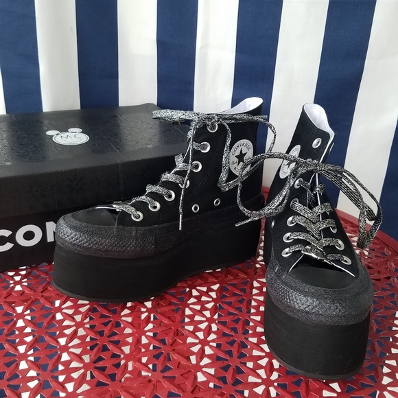 be80f83b1ec NEW Miley Cyrus Platform Converse   FIRM